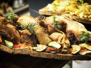 piatti da degustare all'osteria Il Rifugio dei Peccatori
