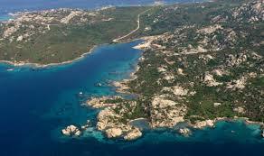 Isola di Santo Stefano nell'arcipelago di La Maddalena