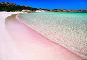 Spiaggia Rosa dell'isola di Budelli, Sardegna