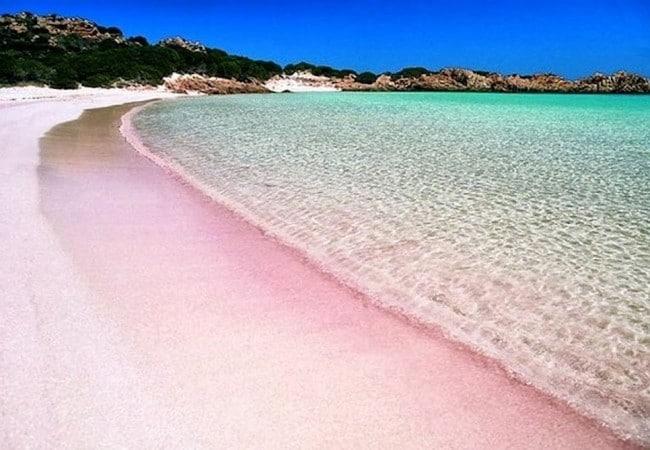 La Spiaggia Rosa dell\'Isola di Budelli